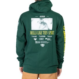 Jacker Teen Spirit Sweat shirt vert foncé