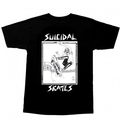 Dogtown Suicidal Pool Skater T-shirt noir