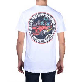Jacker Cover Series 11 T-shirt, blanc