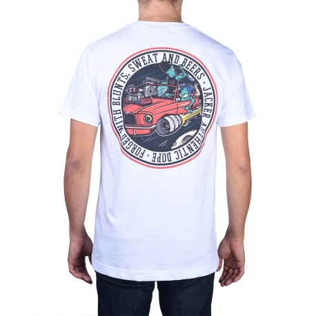 Jacker Cover Series 11 T-shirt, blanc