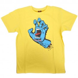 Santa Cruz Screaming Hand T-shirt, banana