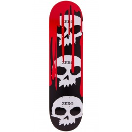 Zero 3 skulls with blood 7'625