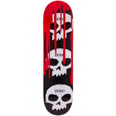 Zero 3 skulls with blood 7'625
