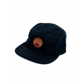 Macba life OG LOGO 5 PANEL CAP noir