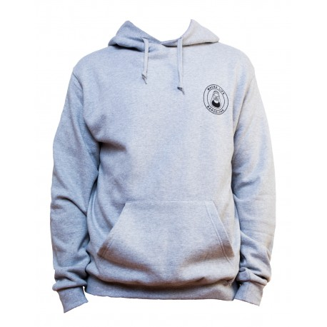 MACBALIFE OG logo Sweat shirt gris chiné