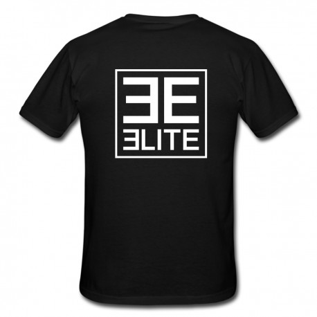 Elite logo T-shirt, black