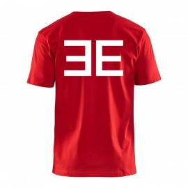 Elite logo T-shirt, red