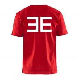 Elite logo T-shirt, red