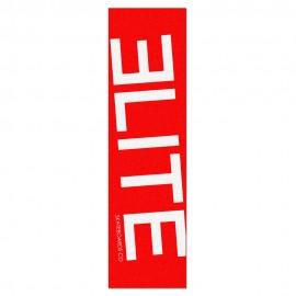 Elite Skateboards Co big logo fond rouge
