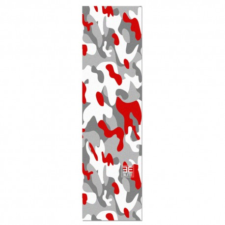 Elite Skateboards Camo Red Grip