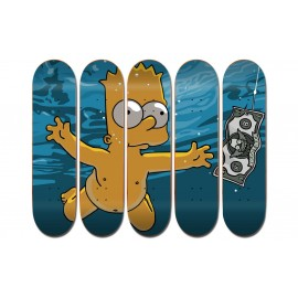 Polyptyque Bart Simpsons Nirvana