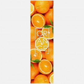 Orange big logo grip Fruity Griptape
