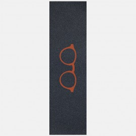 Orange glasses logo grip black Griptape