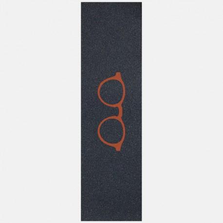 Orange glasses logo grip black Griptape