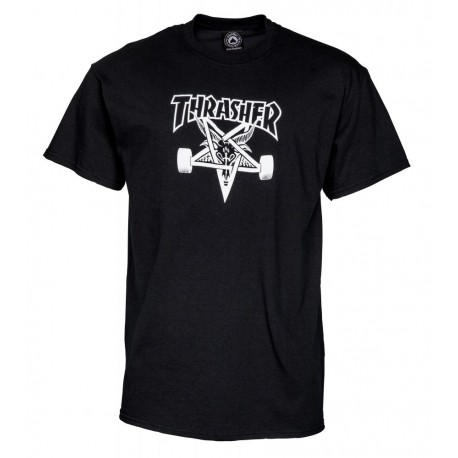 THRASHER skategoat T-shirt, black