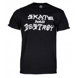 THRASHER Skate & Destroy T-shirt, black