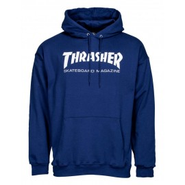 THRASHER Skateboard Magazine Sweat shirt navy