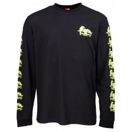 Santa Cruz Longsleeve T-Shirt Natas Panther noir