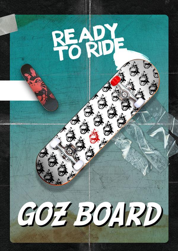 Skate Shaka Ponk Goz Board